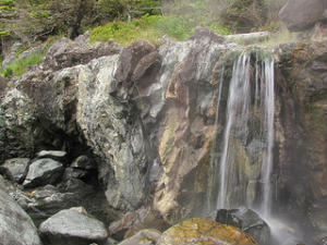 BC Hot Springs - Hot Springs Cove Waterfall.