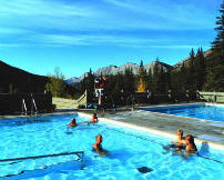 Miette Hot Springs Information
