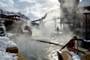 Old Town Hot Springs - Open Year Round for Four Season Soaking
