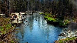 Hot Springs Guide - Liard Hot Springs - Photo by Lee Tengum