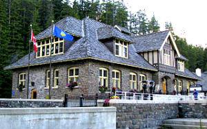 Banff Hot Springs - Retored Bathhouse