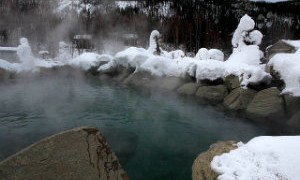 When Alaskan air from the Arctic meets hot water from deep underground you get Chena Hot Springs Resort