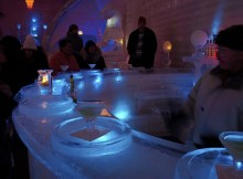 Chena Hot Springs Resort Ice Bar With Ice Martinis Photo by PunkToad